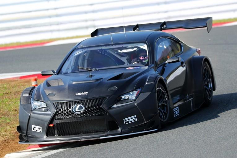 スーパーGT | レクサスRC F GT3の2017年型か? 富士スピードウェイでテスト走行