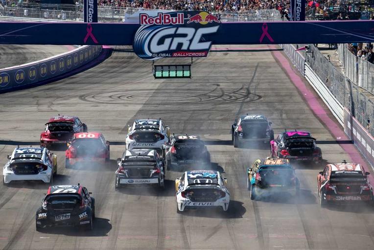 ラリー/WRC | 北米中心のラリークロス『GRC』、18年から電気自動車選手権を併催へ