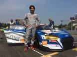 田中哲也は自身がドライビングコーチを務める日本人とKCMGのアウディで参戦、クラス6位と健闘。