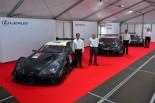 スーパーGT | 3メーカーの2017年新型GT500車両がそろい踏み。もてぎで発表会開催