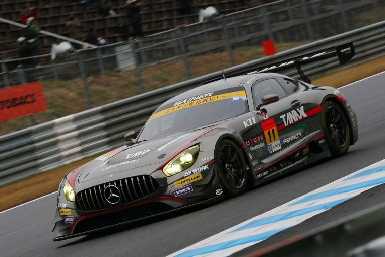 スーパーGT | スーパーGTもてぎ:第3戦予選、GT300はダンロップ勢が上位独占。GAINER AMGがポールポジション