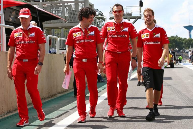 F1 | ベッテル「ウイリアムズの速さは本物。警戒すべき存在」:フェラーリ F1ブラジルGP金曜