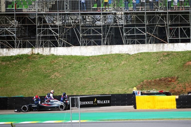 F1 | ホンダ「2台ともにトラブル。原因は今も調査中」/F1ブラジルGP金曜