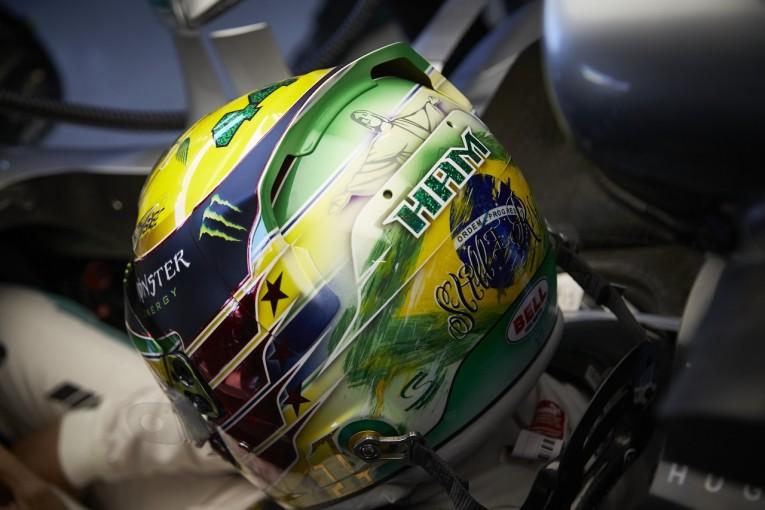F1   ハミルトン「ここで勝つためにはポールポジションがどうしても欲しい」:メルセデス F1ブラジルGP金曜