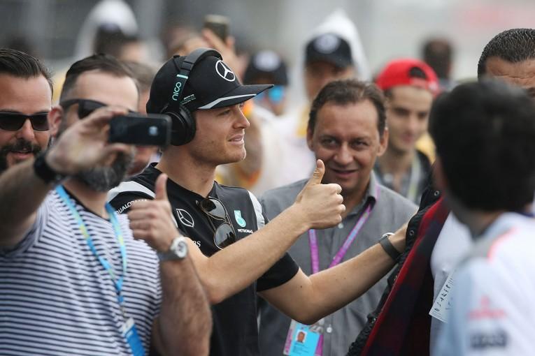 F1 | ロズベルグがチームメイトに逆転しトップ【タイム結果】F1第20戦ブラジルGP フリー走行3回目