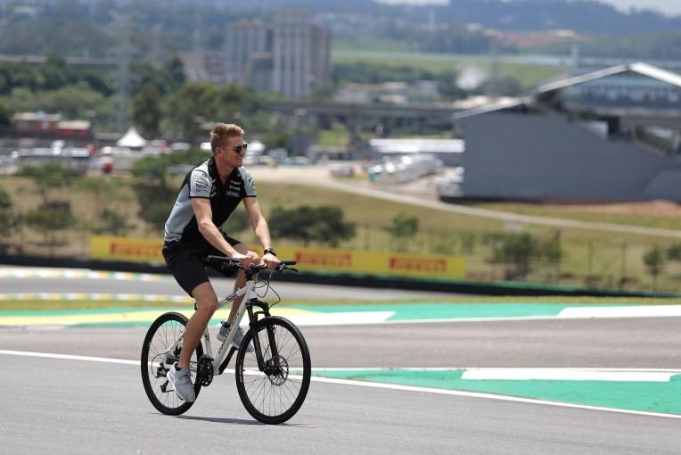 F1   ヒュルケンベルグ「順調な一日。土日に期待できそう」:Fインディア F1ブラジルGP金曜