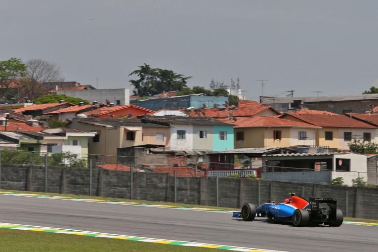 F1   オコン「ルノーとザウバーに勝った。明日の戦いが楽しみ」:マノー F1ブラジルGP金曜