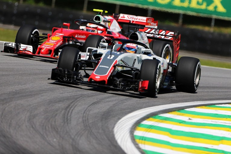 F1 | グロージャン「新ブレーキをテスト、すごく気に入った!」:ハース F1ブラジルGP金曜