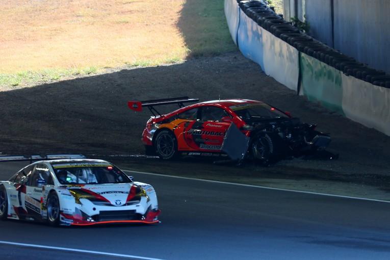 スーパーGT | ARTA BMW M6 GT3のクラッシュは単独スピンが原因。高木に怪我はなし
