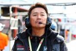 SUGO以来となる勝利で今季2勝目を挙げたフォーラムエンジニアリング GT-Rと近藤真彦監督。最終戦で3勝目を狙う。