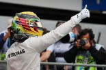 F1第20戦ブラジルGP ポールポジションを獲得したルイス・ハミルトン
