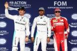 2016年F1第20戦ブラジルGP ポールはルイス・ハミルトン、2番手:ニコ・ロズベルグ、3番手:キミ・ライコネン