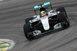2016年F1第20戦ブラジルGP ルイス・ハミルトン