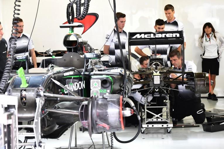 F1   マクラーレン「相次ぐトラブルに苦しみ続けた。決勝は何事もなく戦いたい」/F1ブラジルGP土曜