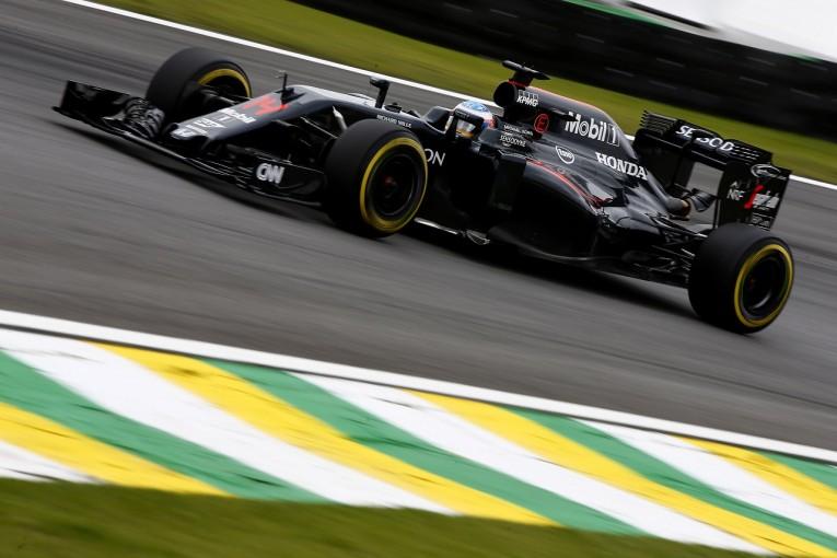 """F1   ホンダ「久々のQ3進出。""""4番手""""への期待を高めたアロンソの見事なラップ」/F1ブラジルGP土曜"""