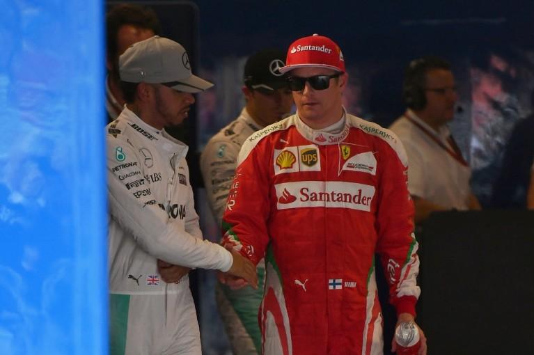 F1 | ライコネン「大したラップじゃないのに3位だったから驚いた」:フェラーリ F1ブラジルGP土曜