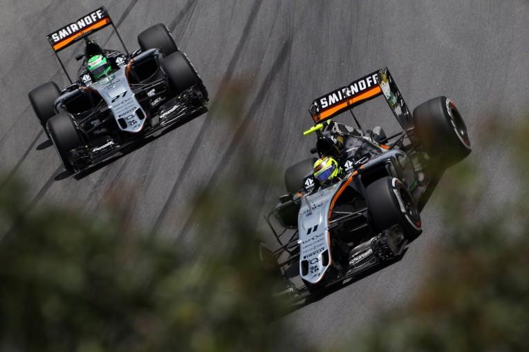 F1 | ペレス「チームメイトとの戦いはとても激しかった」:フォース・インディア F1ブラジルGP土曜