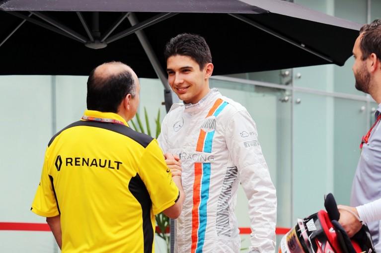 F1   オコン、他車の妨害で3グリッド降格「知らなかったとはいえ当然の罰」:マノー F1ブラジルGP土曜
