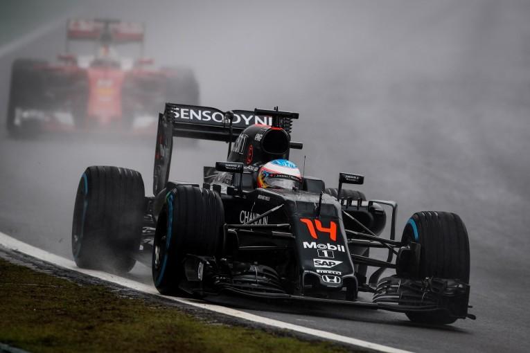 F1 | アロンソ、終盤7台抜きで入賞も「チャンスを生かせず残念」:マクラーレン・ホンダ F1ブラジルGP日曜
