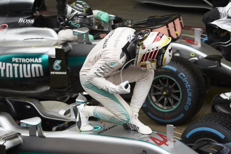 F1 | ハミルトン「長年夢みたブラジルGP初勝利は意外と楽に手に入った」:メルセデスF1 日曜