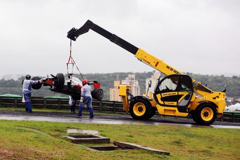 F1 | グロージャン「クラッシュは30Gの衝撃だった」:ハース F1ブラジルGP日曜