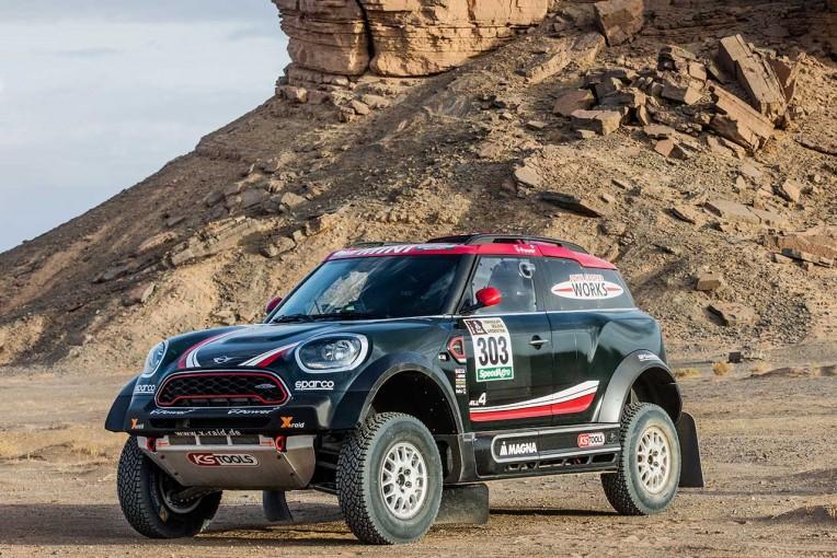 ラリー/WRC | X-raid、ダカールに新型ミニ・ラリーカーを投入。「最高のマシンとしか表現できない」