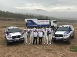 ラリー/WRC | 前後サス強化で市販車部門4連覇へ。トヨタ車体が17年ダカール参戦体制発表