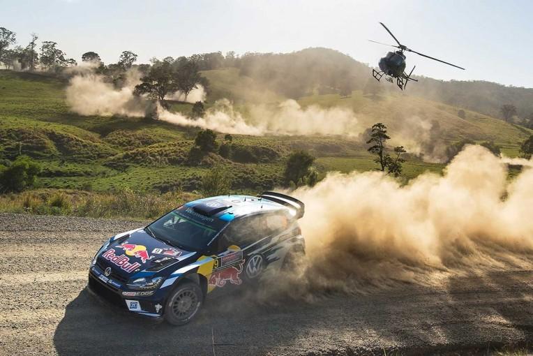 """ラリー/WRC   WRCオーストラリア:""""ラストラン""""のフォルクスワーゲン勢が初日ワン・ツー"""