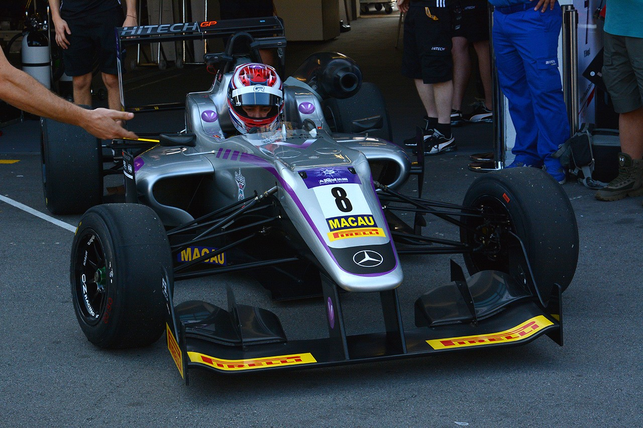 F3マカオGPの予選はラッセルがポールを獲得。山下は5番手から予選レースへ
