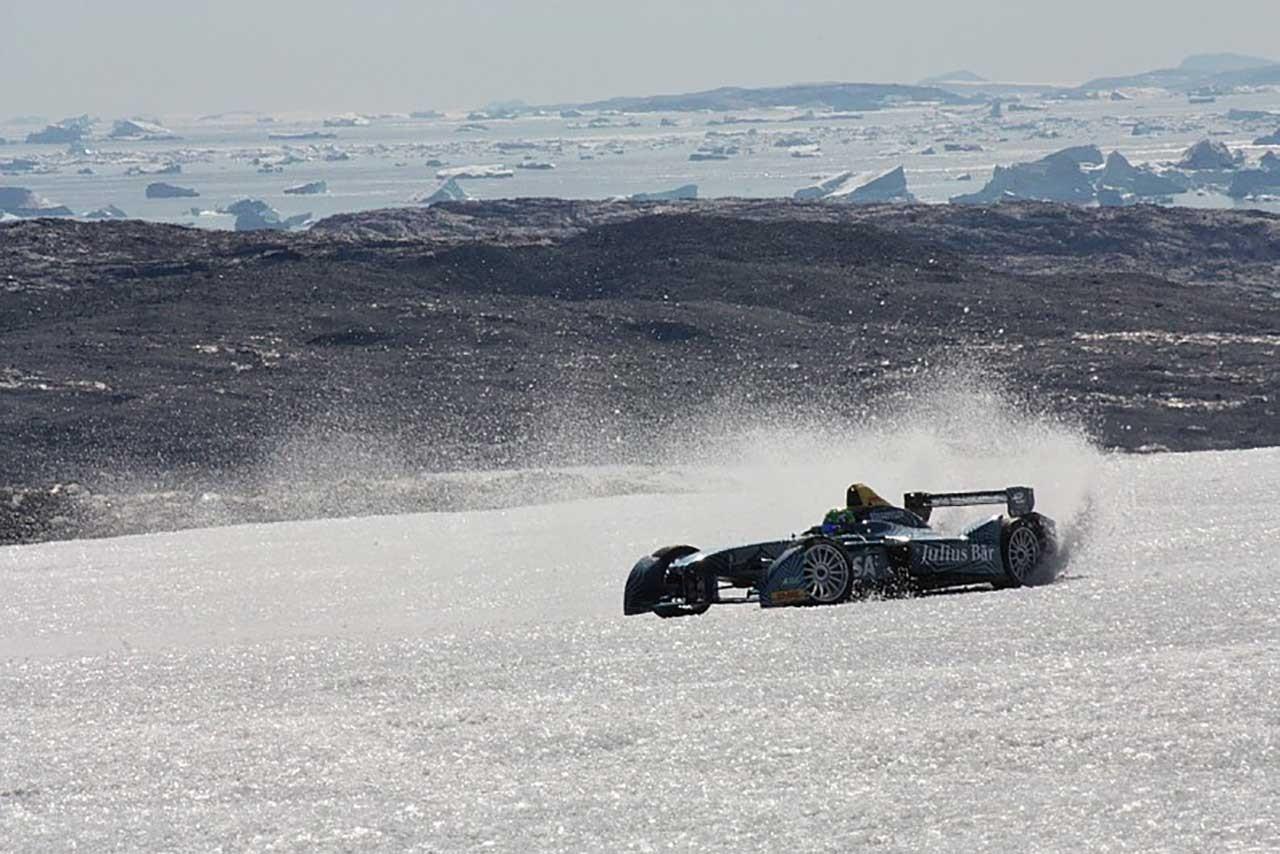 今夏開催されたグリーンランドでのデモラン