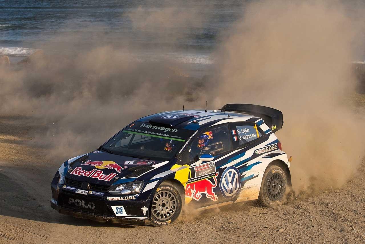 WRCオーストラリア:ミケルセン首位もギャップ縮小。優勝争いは三つ巴の様相