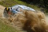 優勝したアンドレアス・ミケルセン(フォルクスワーゲン・ポロR WRC)