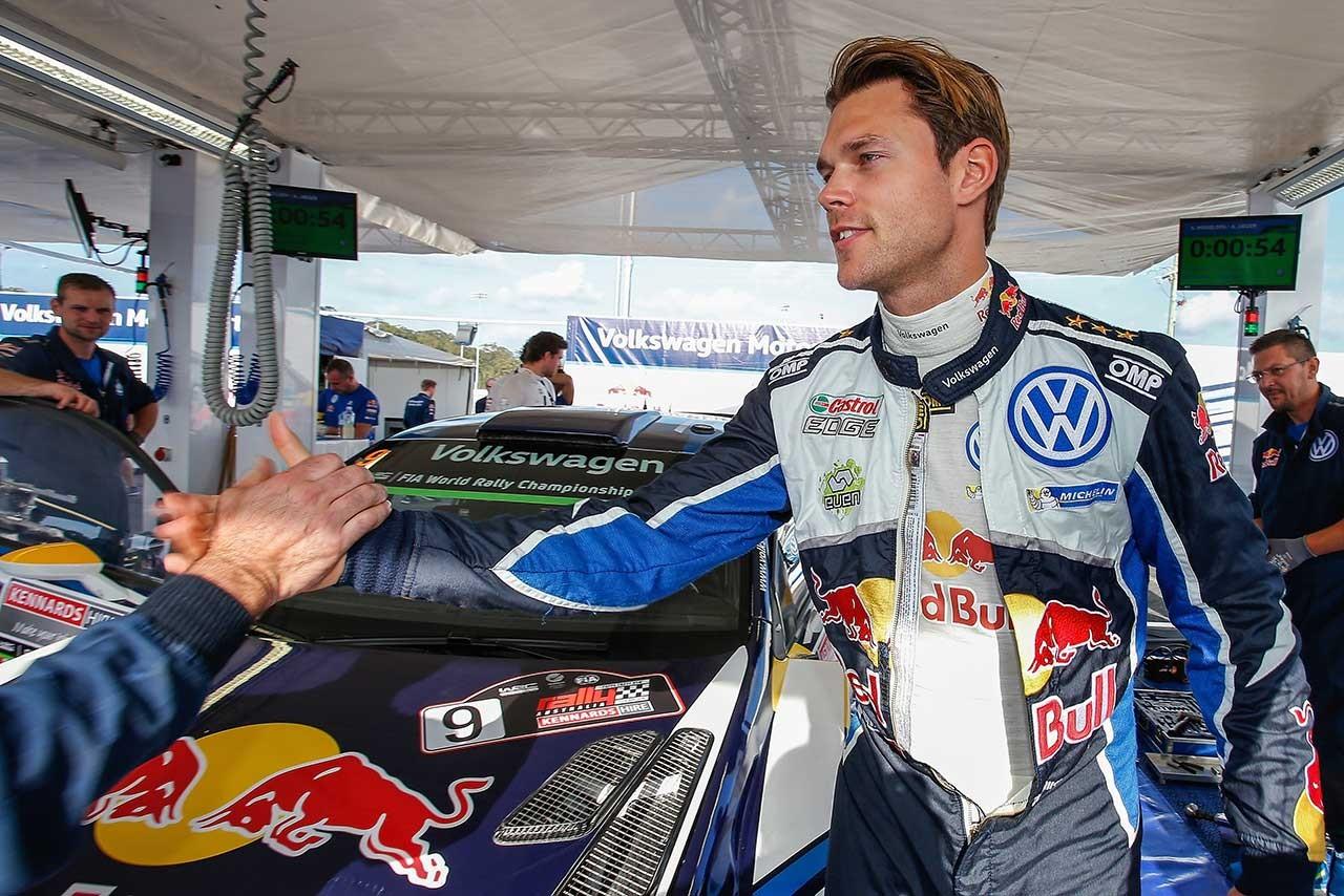 WRC:オジエがまさかのスピン。ミケルセンがフォルクスワーゲンに通算43勝目をもたらす