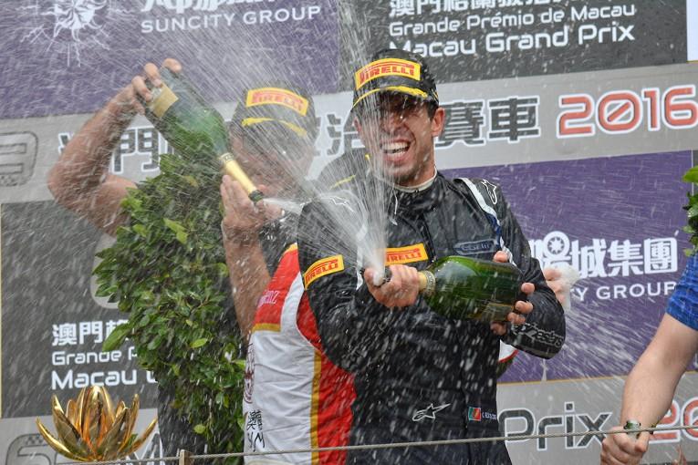 海外レース他 | F3マカオGP:ダ・コスタが涙の2勝目。山下健太は4位で表彰台には届かず