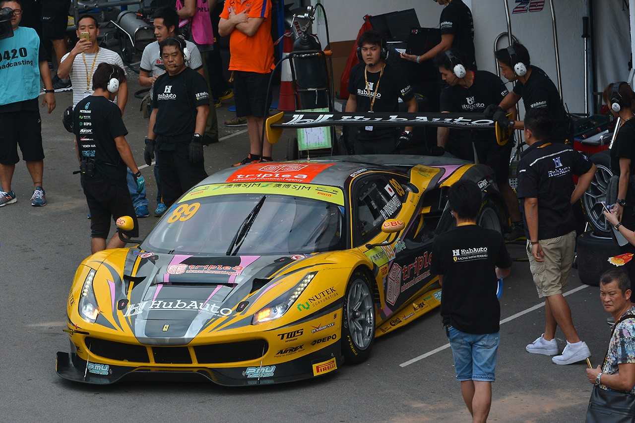 吉本大樹&HubAuto Racing、GTワールドカップ挑戦は12位。「来年も出たい!」