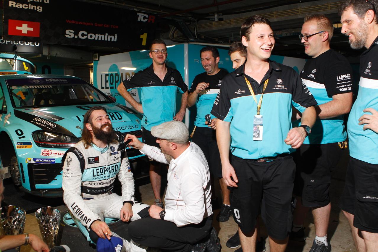 TCRインター:ゲスト参戦のモンテイロがギアを制覇。コミニが逆転王座獲得