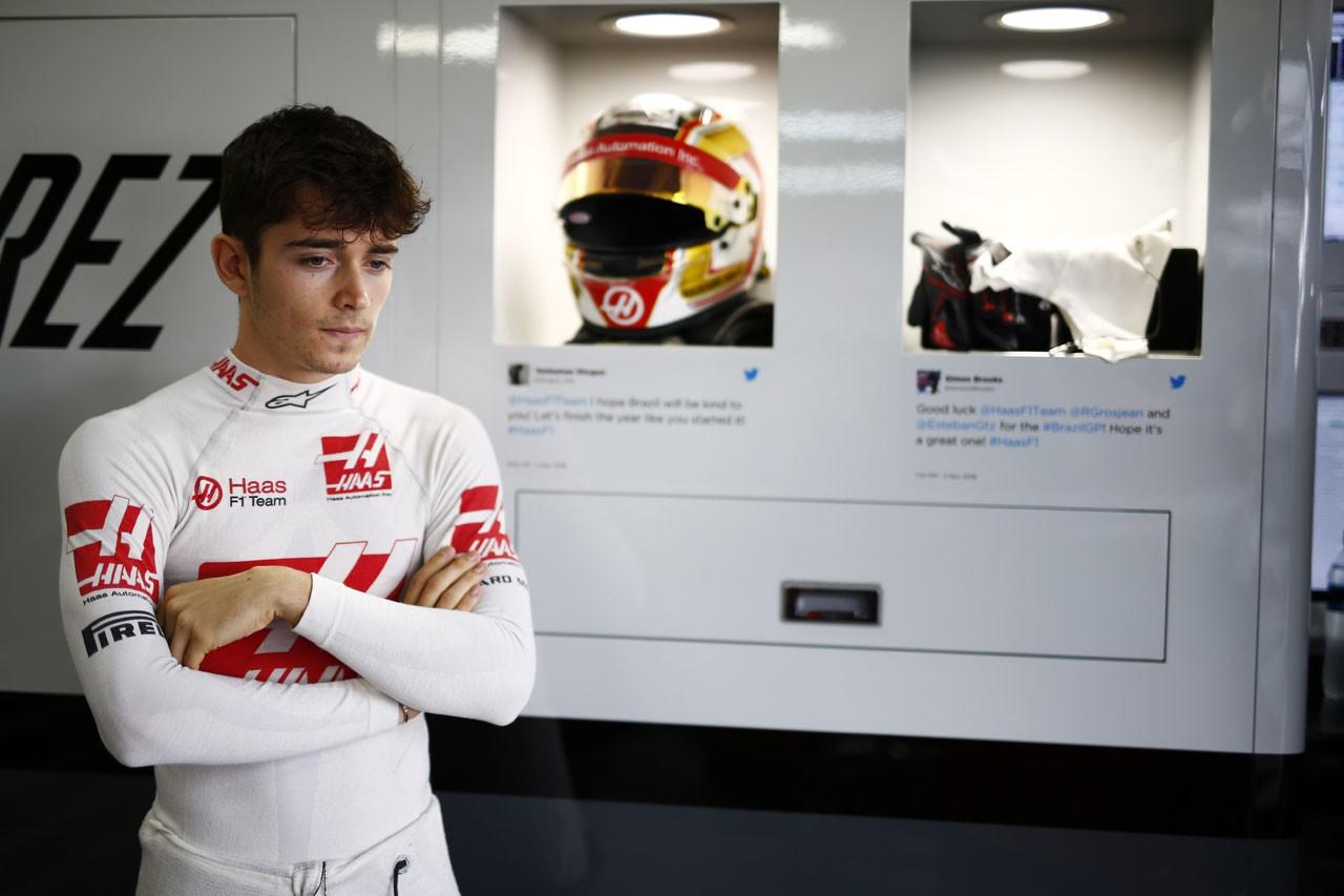 2016年ブラジルGP シャルル・ルクレール(ハースF1)