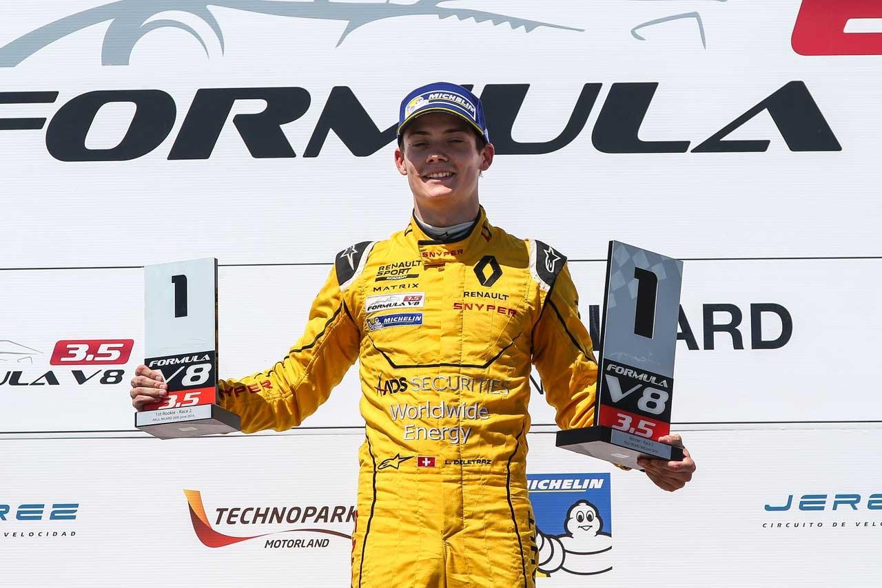 ルノーF1育成ドライバーのデルトラズ、GP2最終戦アブダビにスポット参戦