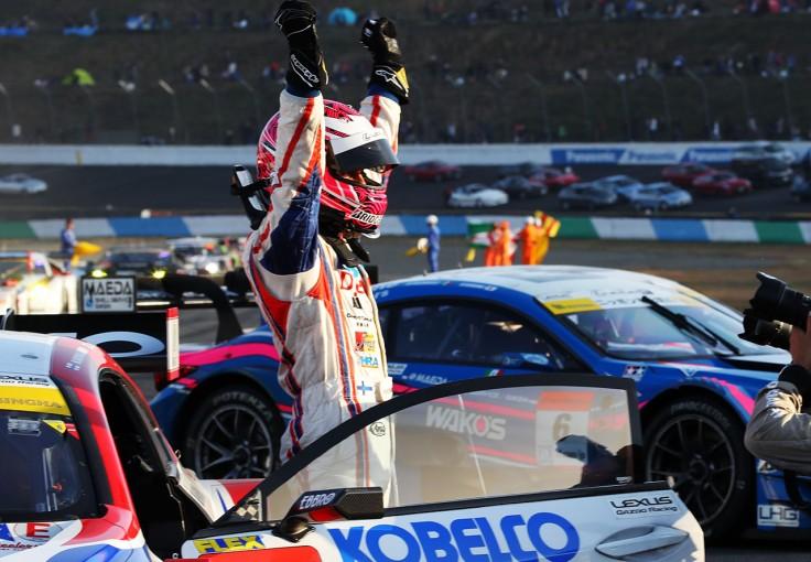 スーパーGT | 初タイトルのコバライネン「F1からスーパーGTに来たのは本当にいい選択だった」