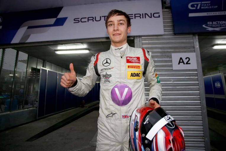 F1 | 欧F3のジョージ・ラッセル、2017年はメルセデスF1の開発ドライバーとGP3を兼務