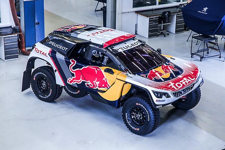 ラリー/WRC   プジョー、2017年のダカールに挑む3008DKRのカラーリングを公開
