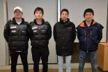 スーパーフォーミュラのメーカーテスト/ルーキーテストに参加した4名のドライバーたち