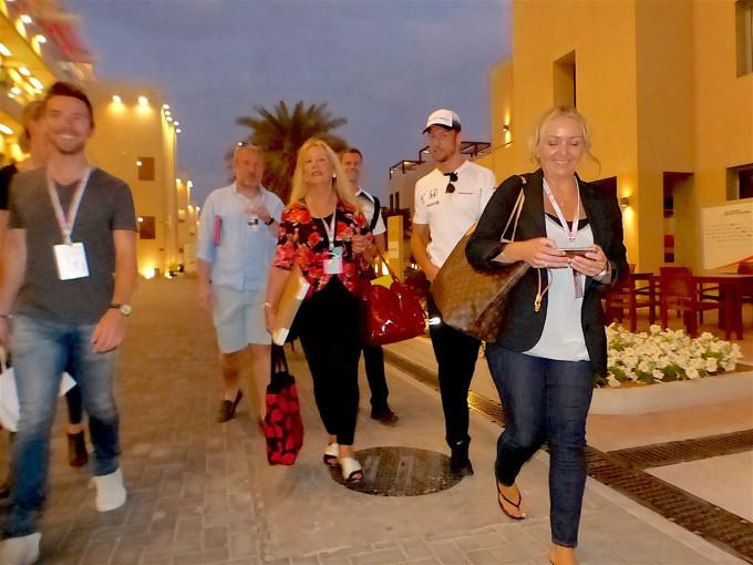F1 | F1 Topic:バトンが事実上の引退宣言。特別な気持ちで臨むアブダビGPは家族と友人を招待