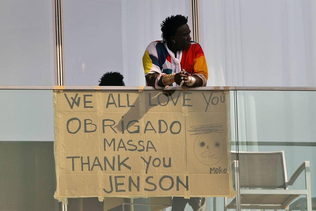 フェリペ・マッサとジェンソン・バトンへのメッセージ