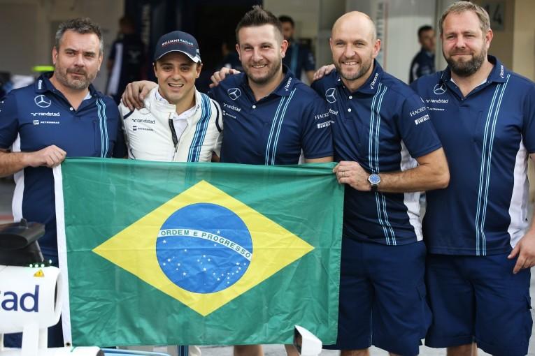 F1 | 引退のマッサ「最後の金曜が終わった…予選と決勝ではトップに立ちたい!」ウイリアムズ F1アブダビGP金曜