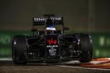 F1 | アロンソ「予選9位はかなりポジティブな結果。車の競争力感じた」マクラーレン・ホンダ F1アブダビ土曜