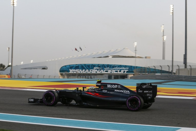 F1   マクラーレン「バトンがF1ラストレース(バージョン1.0)で入賞できることを願う」/F1アブダビGP土曜