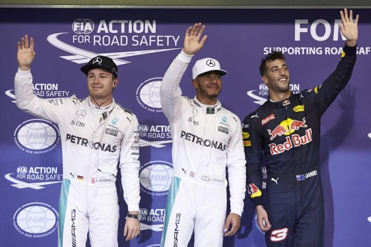 F1 | リカルド3位「タイトル争いのふたりに遠慮なんかしない。覚悟してて!」:レッドブル F1アブダビGP土曜