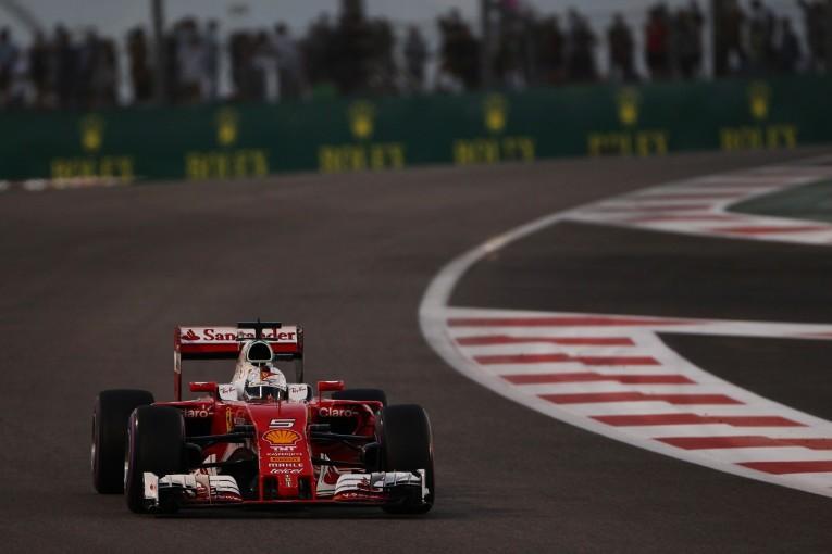 F1   ベッテル「フェルスタッペンのミスでリズムが狂った」:フェラーリ F1アブダビGP土曜