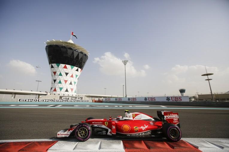 F1 | ライコネン「昼間のプラクティスは時間の無駄」:フェラーリ F1アブダビGP土曜